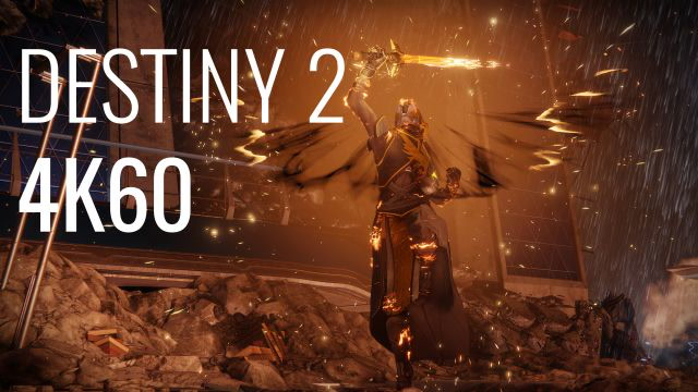 Destiny 2 PC gameplay: 4K, GTX 1080 Ti, all the eye-candy