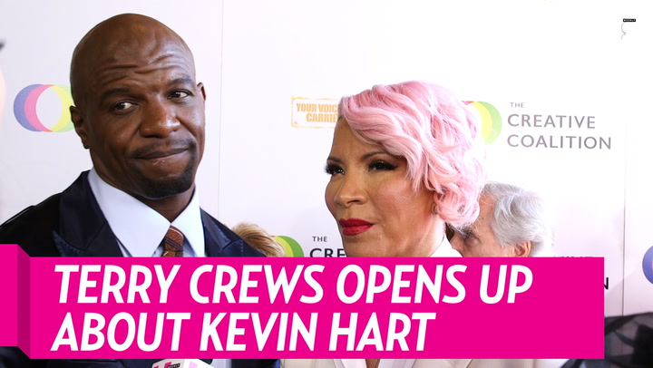 Terry Crews Says It's 'Very Miraculous' Kevin Hart Survived Car Crash
