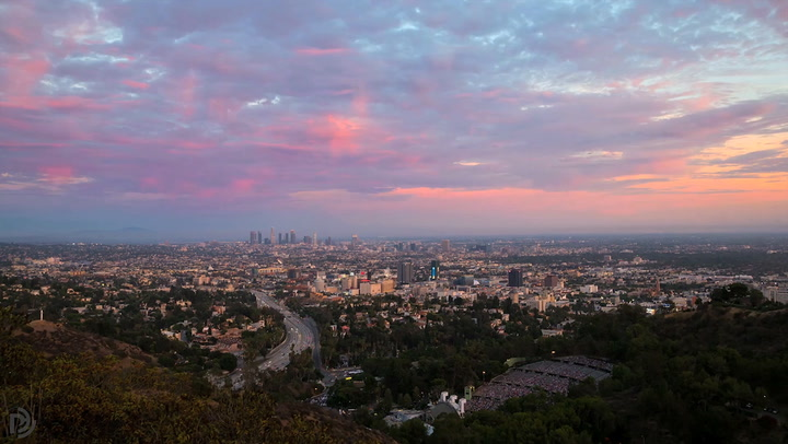 Video: The City Of Angels As An Angel Might See It