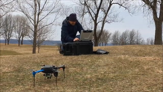 Researchers use drone to sport invasive plants in Red Wing