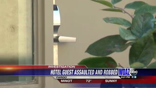 Armed robbery at Fargo hotel