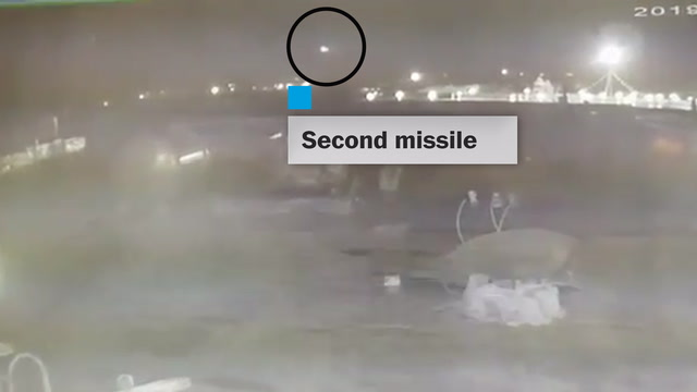 Video shows 2 missiles striking UIA 752 before it crashed near Tehran
