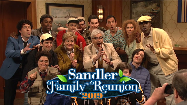 SNL's 'Sandler Family Reunion' highlights Adam Sandler's most iconic roles. Can you name them all?