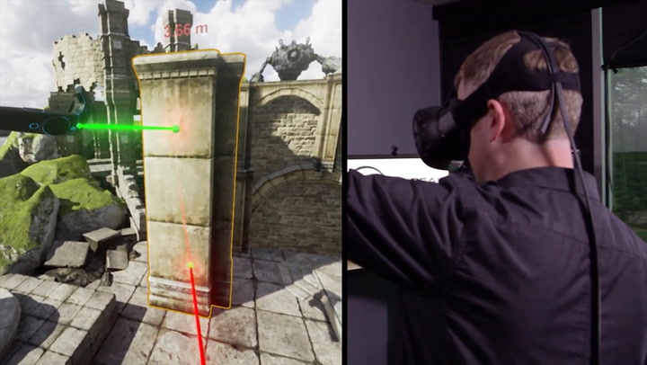 Watch A Designer Build A Virtual Reality Game–Inside Virtual Reality