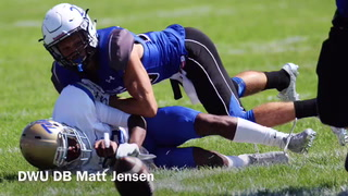 VIDEO: DWU defensive back Matt Jensen talks defense, game vs. Northwestern