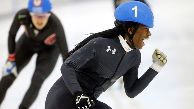Being Maame: This is how the youngest U.S. Olympics speed s