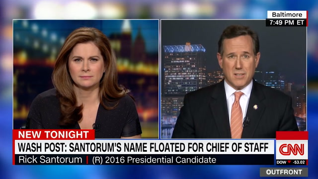 Rick Santorum passes on Trump's chief of staff position