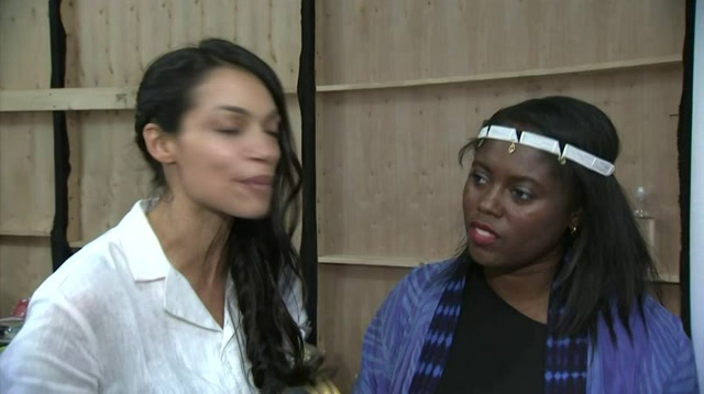 Rosario Dawson's fashion line celebrates African-made and inspired designs