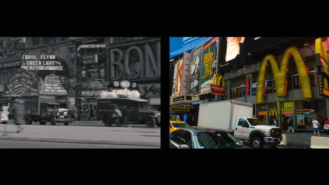 Eighty Years of Midtown New York, Then and Now