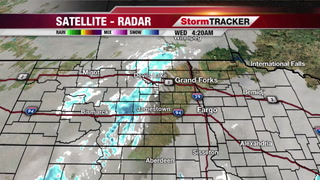 StormTRACKER Weather: Light Snow Today/Tonight