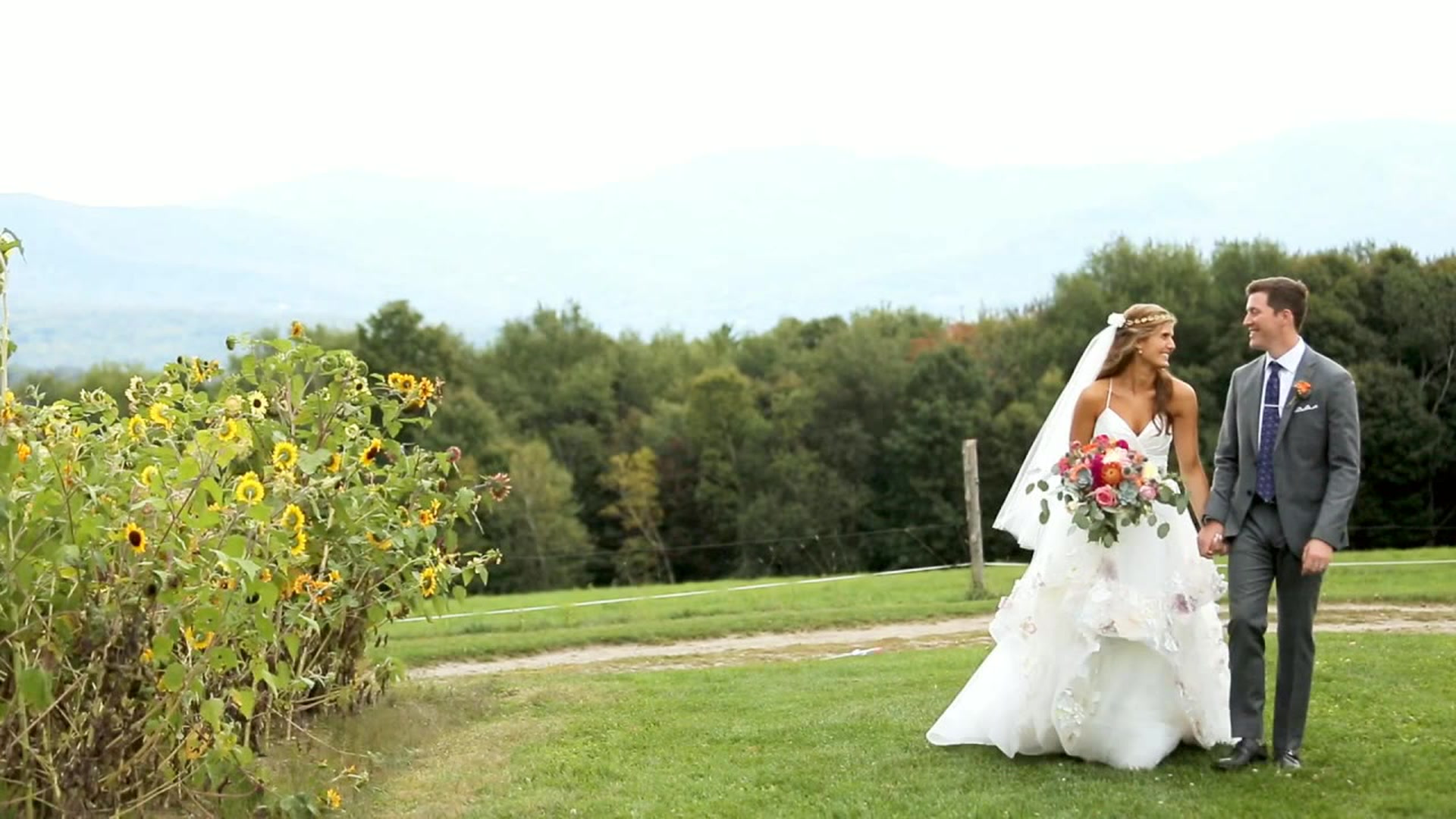 Madeline + Chris | Stowe, Vermont | Trapp Family Lodge