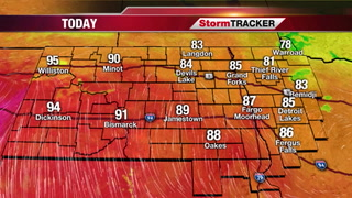 Thursday Forecast: Mainly Sunny, Warm & Humid