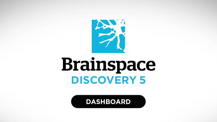 Discovery Dashboard video | Brainspace