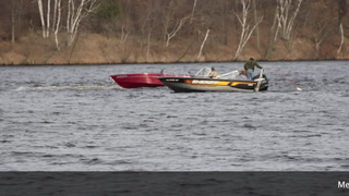 Boat Rescue on Rice Lake