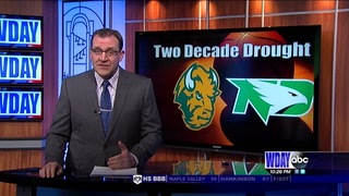 Hot 3-point shooting leads UND over NDSU
