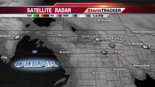 Cloudy and cool Thursday forecast