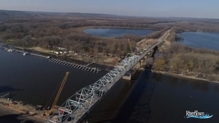 Red Wing Bridge construction progress