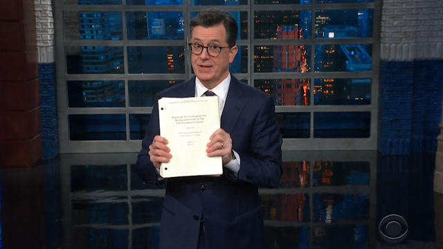 'Not how an innocent person reacts': Late-night hosts weigh in on Mueller report
