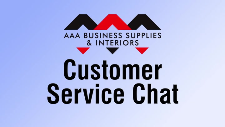 Customer Service Chat at shop.AAAsolutions.com