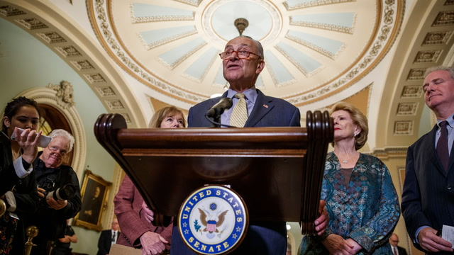 Schumer: Congress must authorize any military action on Iran