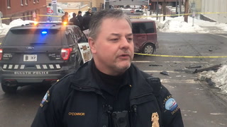 Duluth police give brief statement following shooting