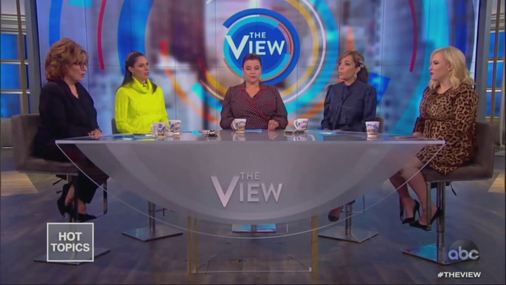 Meghan McCain Pouts After Another Joy Behar Clash on 'The View': 'I'm Just Trying to Make a Point!'