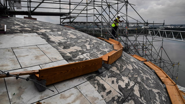 Biofilm, time and nature have damaged the Jefferson Memorial. Now it's getting a makeover.