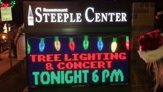 Rosemount tree lighting ceremony