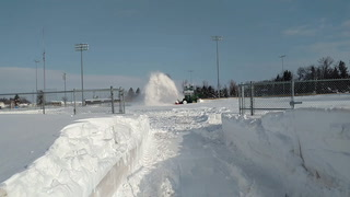 Snow removal at Eagles Park