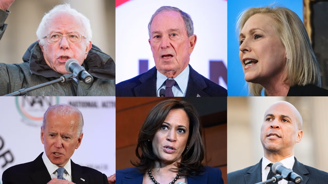 2020 hopefuls condemn Trump, pledge to fight for racial justice on MLK day