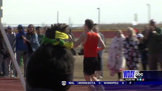 Area high school athletes get outdoors in Eagle Relay Invitational