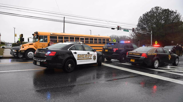 Sheriff: Student gunman in Southern Maryland school shooting dead
