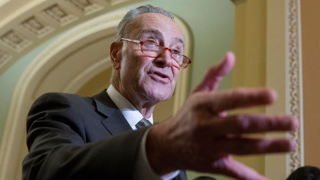 Schumer calls for senators to put 'country over party' in impeachment
