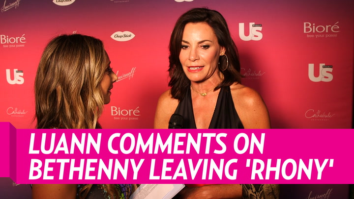 Luann de Lesseps Reveals She Still Hasn't Spoken to Bethenny Frankel: 'It's Been a Minute'