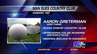West Fargo man sues Oxbow Country Club
