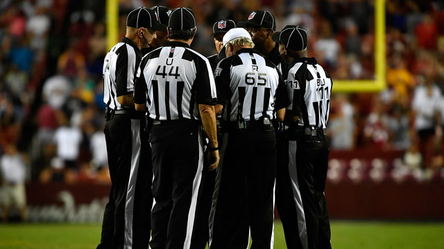 Here's something to remember about NFL officials