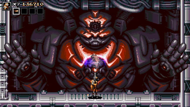 Blazing Chrome - Boss Trailer (Xbox One Announcement)