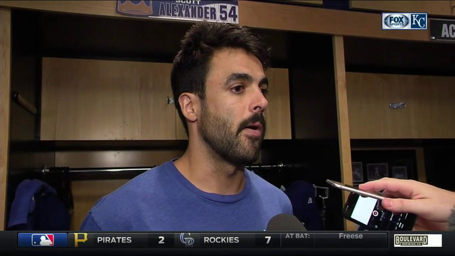 Alexander says pitching in big situations has made him a better pitcher