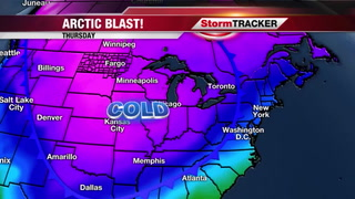 MUCH Colder Weather Expected Next Week