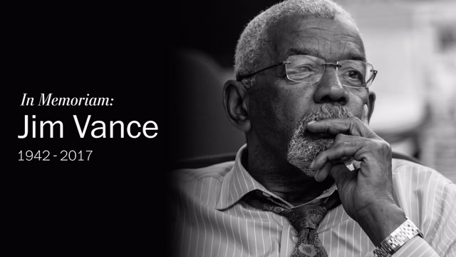 Remembering Jim Vance, D.C.'s longest-serving local news anchor.