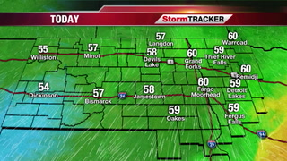 StormTRACKER Saturday Forecast