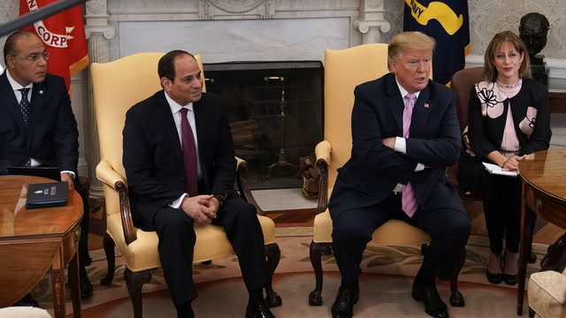 Trump and Sissi praise U.S.-Egypt relations