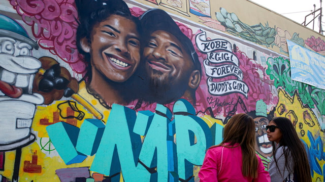 How fans and cities are paying tribute to Kobe Bryant
