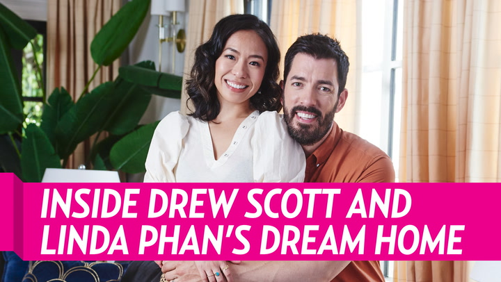 Why Drew Scott and Wife Linda Phan Chose to Paint Their Bedroom Walls Black