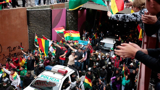Bolivia's Morales resigns amid election protests