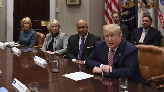 Trump's full meeting with local and state officials on school safety