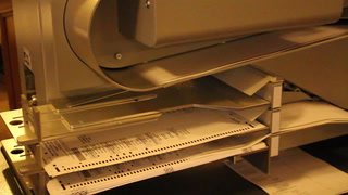 St. Louis County's new absentee ballot counting machine