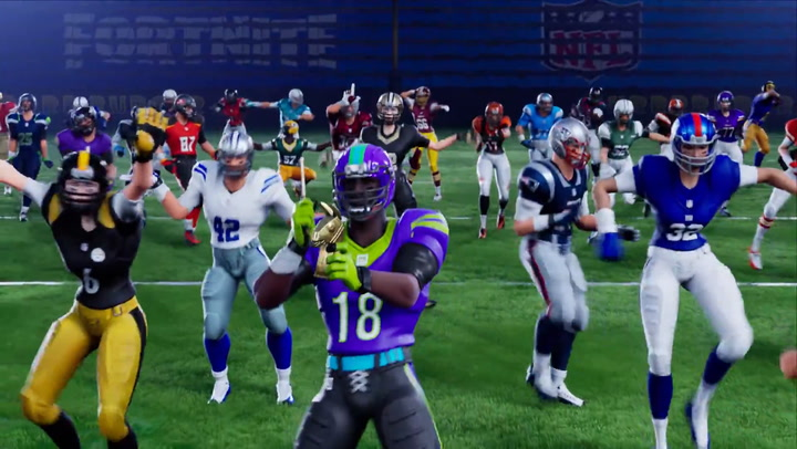 'Fortnite' Video Shows the New NFL Celebration Skins in Action