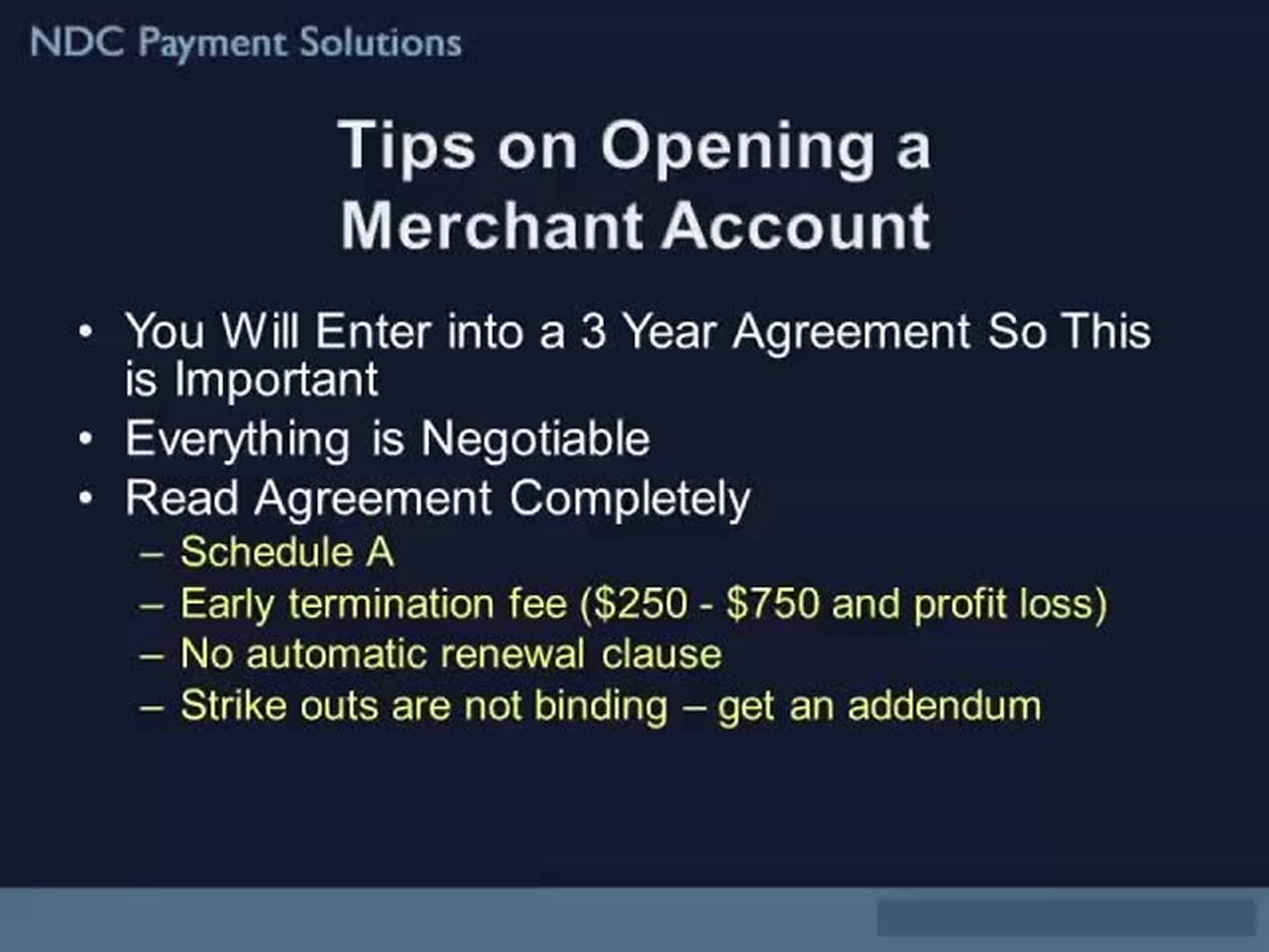 Tips On Opening A Merchant Account Video Lorman Education Services
