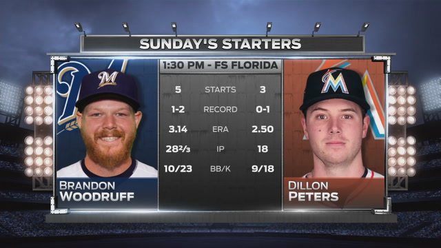 Dillon Peters aims to lift Marlins to series victory